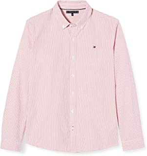 Tommy Hilfiger Seersucker Stripe Shirt L/S Camisa para Niños