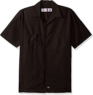 Red Kap Men's Rip-stop Short-sleeve Crew Shirt