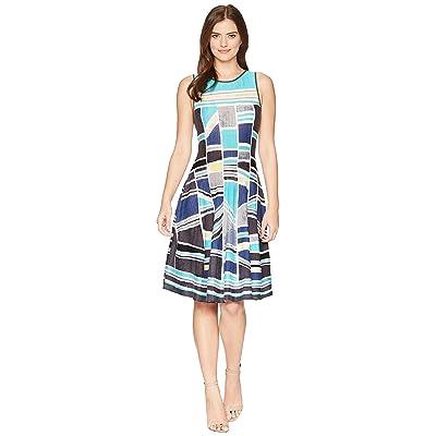 NIC+ZOE Going Places Twirl Dress (Multi) Women