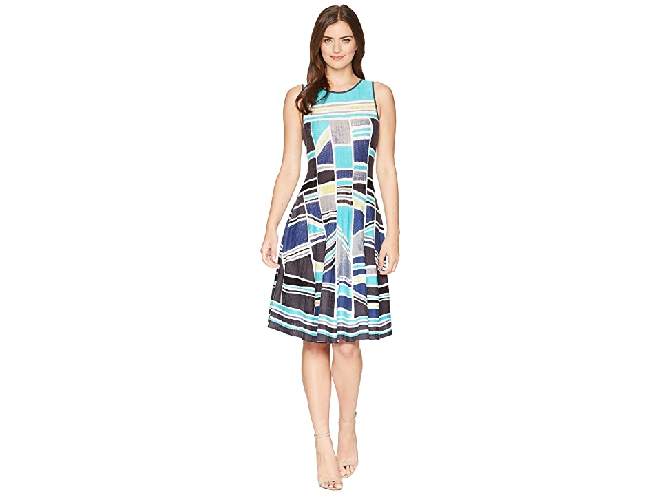 NIC+ZOE Going Places Twirl Dress (Multi) Women
