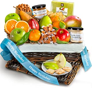 Birthday Deluxe Fruit Gift Basket