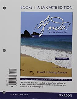 ¡Anda! Curso elemental, Books al la Carte Plus MyLab Spanish -- Access Card Package (3rd Edition)