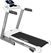 Prime Fitness Motorized Treadmill PR 924 with Manual Incline and Semi Automatic Lubrication 110 Kg Capacity