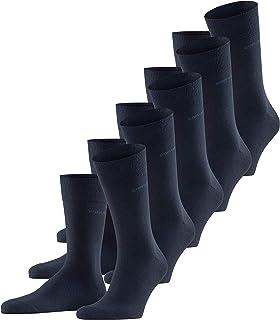ESPRIT Socken Uni 5-Pack Baumwolle Herren schwarz grau viele weitere Farben verstärkte Herrensocken ohne Muster atmungsaktiv dünn und einfarbig im Multipack 5 Paar