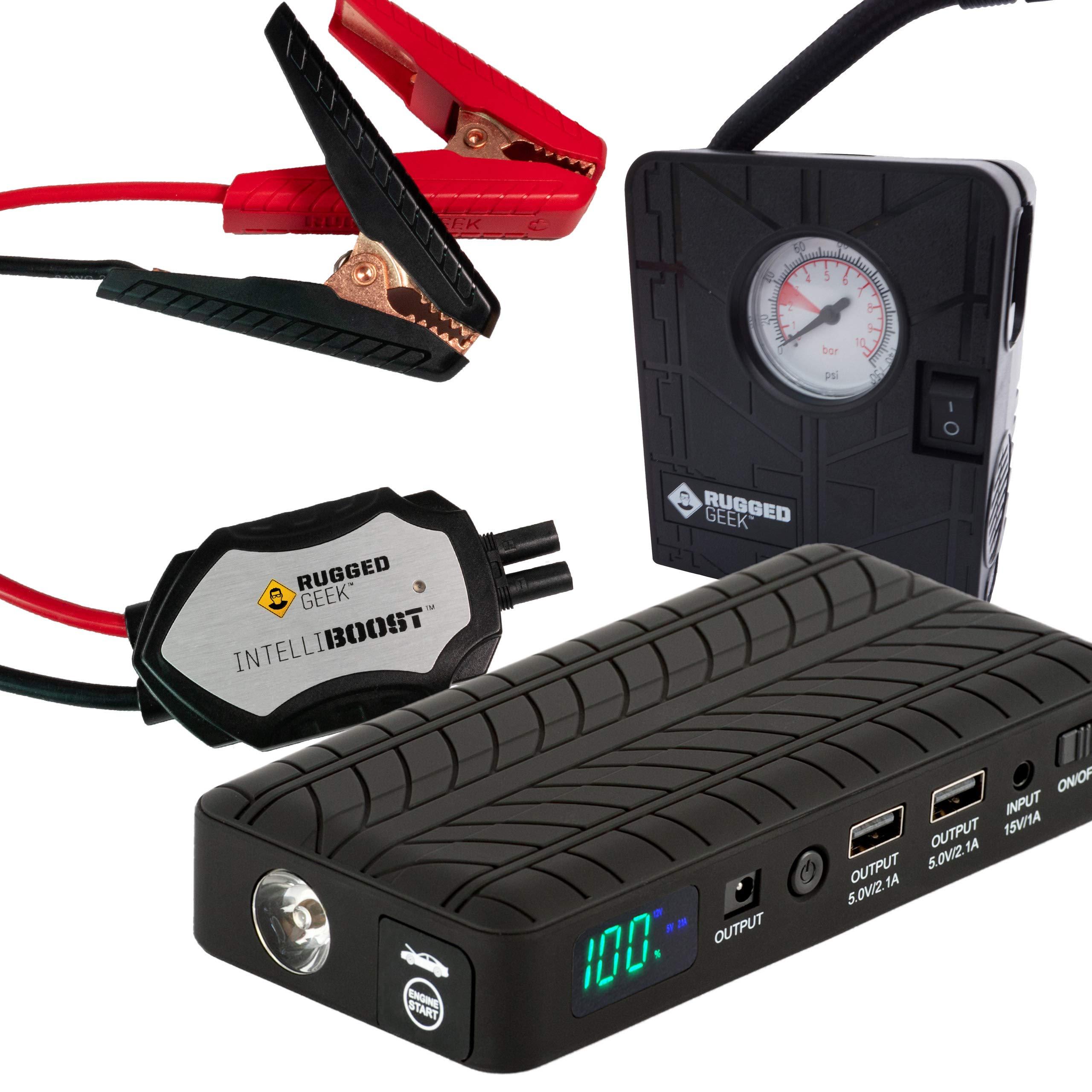 RG1000 Starter INTELLIBOOST Flashlight COMPRESSOR