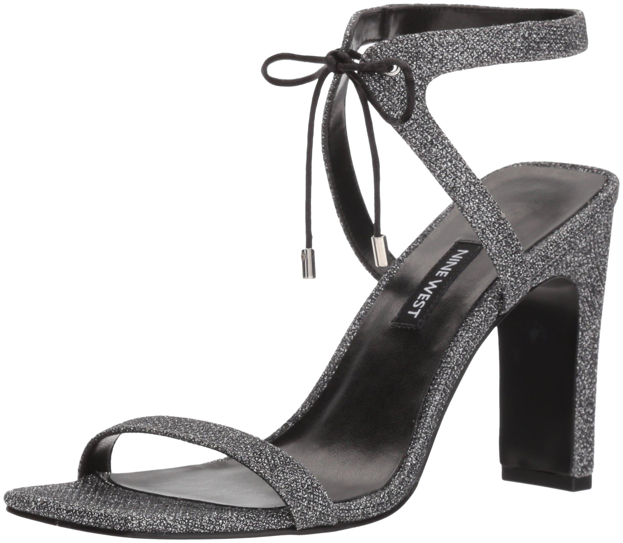 NINE WEST Women's Longitano Heeled Sandal