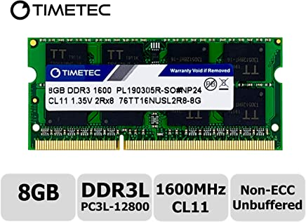 Timetec Hynix IC 8GB DDR3L 1600MHz PC3L-12800 Non ECC Unbuffered 1.35V CL11 2Rx8