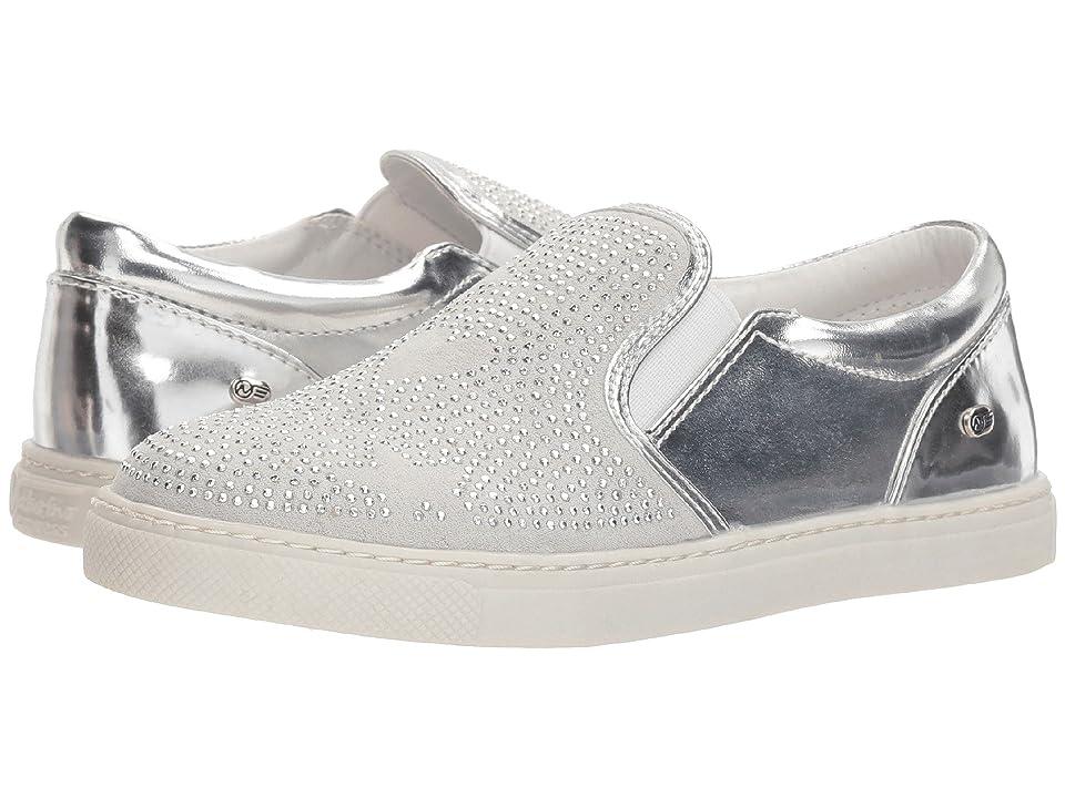 Naturino Express Ottavia (Toddler/Little Kid) (Silver) Girls Shoes
