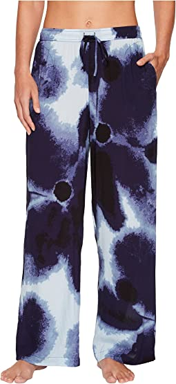 Donna Karan - Satin Printed Pants