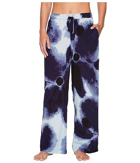 Satin Donna Printed Pants Karan Donna Karan FHgpzz