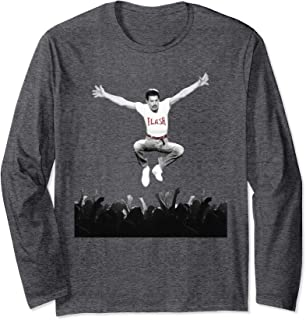 Freddie Mercury Official Flash Jump Crowd Long Sleeve Shirt