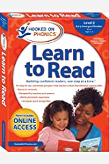 Hooked on Phonics Learn to Read - Level 2: Early Emergent Readers (Pre-K | Ages 3-4) (2) Paperback