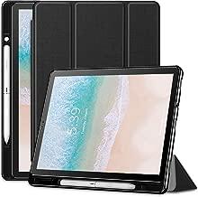 Infiland Samsung Galaxy Tab S4 10.5 Case, Slim Tri-Fold Case Cover Compatible with Samsung Galaxy Tab S4 10.5 Model SM-T830/ T835 2018 Release (Auto Wake/Sleep), Black