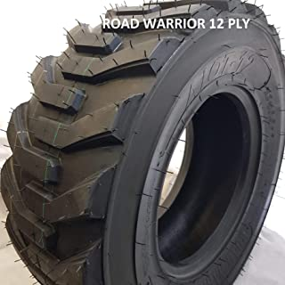 (1 TIRE) 12-16.5 ROAD WARRIOR AIOT-12 SKID STEER TIRE, 12 PLY, NHS HEAVY DUTY WEIGH 65 LBS