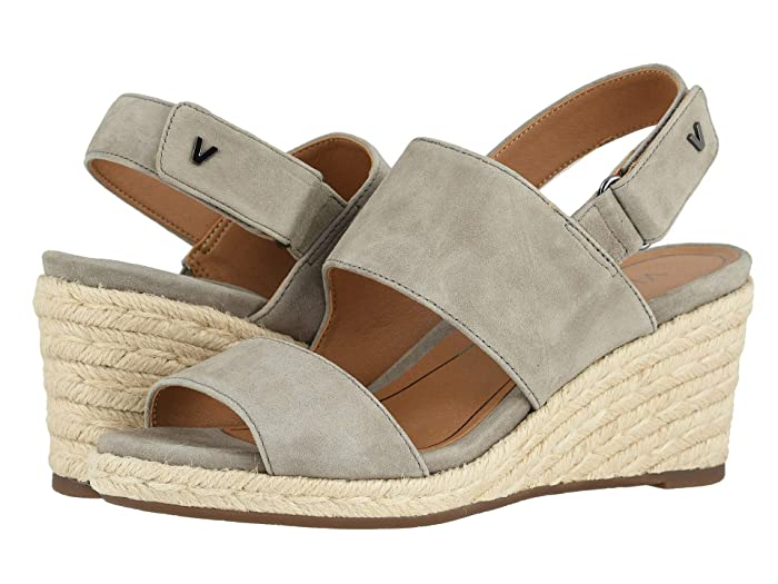 VIONIC  Brooke (Dark Taupe Suede) Womens Shoes