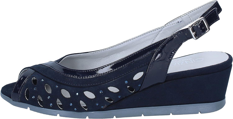 CINZIA SOFT Sandals Womens Suede bluee