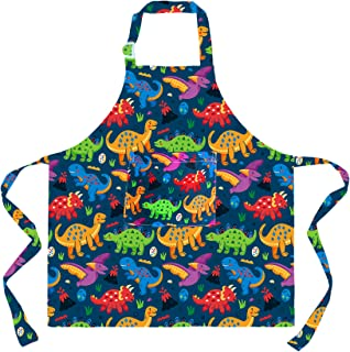 Girls Childrens Aprons Toddler Aprons Floral Aprons for kids Kids Kitchen Pinny Childs Apron Set Matching Kitchen Aprons Kids Aprons