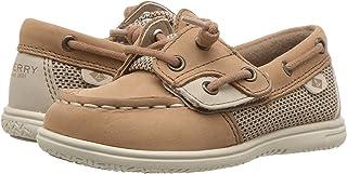 Sperry Top-Sider Kids' Shoresider Jr Crib Shoe, Linen/Oat