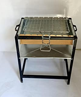 Outdoor Black & Silver Charcoal grill , 2725619052773