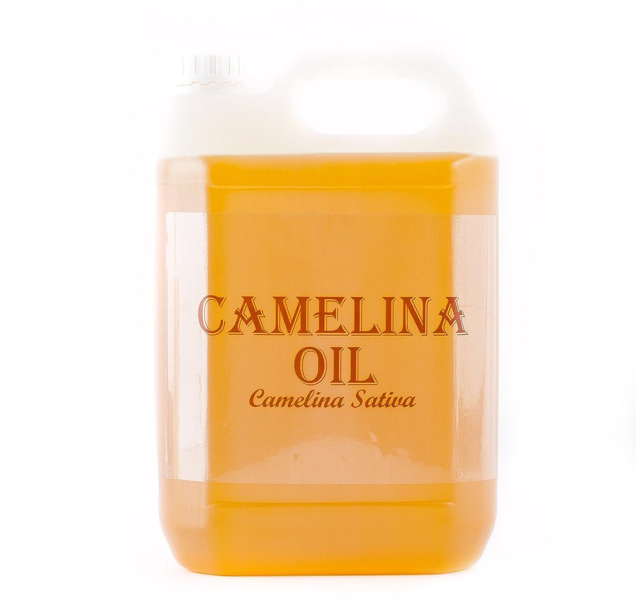 信じられない衝動歯車Mystic Moments   Camelina Virgin Carrier Oil - 5 Litres - 100% Pure
