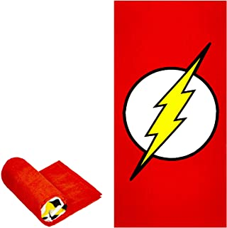 "JPI Beach Towel - The Flash - Oversized 58"" x 28"" - for Pool, Bath, Yoga, Gym, Travel, Camping, Beach Cart & Beach Chairs"
