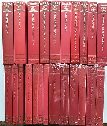 I classici del romanzo storico - 20 volumi - Scott, Cooper, Thackery, Cantù, Flaubert, Conrad, De Foe, Salgari, Gautier, DAzeglio, Fontane, Gogol France, Tomizza, Clavell, De Roberto, Dumas,