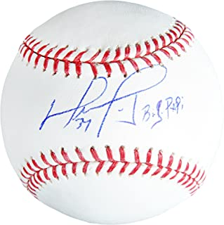 David Ortiz Boston Red Sox Autographed Baseball with