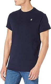 G-Star Raw Men's Crewneck Logo Lash Soft Cotton Short Sleeve T-Shirt