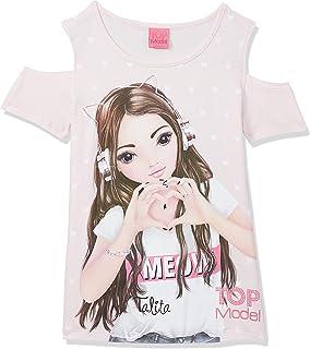 Top Model niñas T-Shirt, Camiseta, Rosa