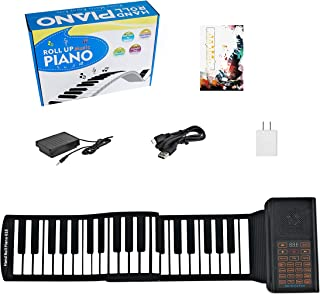 61 Keys Portable Piano Electric Piano Keyboard Hand Roll Pia