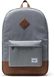 Herschel Unisex-Adult Heritage Backpack, Grey Synthetic - 10007
