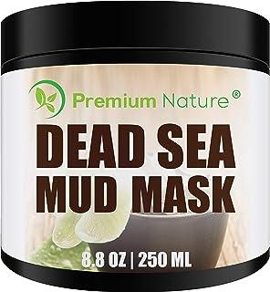 Totes Meer Schlamm Schwarze Gesichtsmaske - Premium Nature Anti Pickel & Blackhead Clay Maske Gegen Mitesser & Unreine Haut Gesicht & Körper Beauty Masken Gesichtsmasken Schwarz Dead Sea Mud Mask