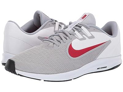 Nike Downshifter 9 (Wolf Grey/University Red/White/Black) Men