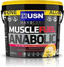 USN Muscle Fuel Anabolic Banana 4 kg Performance Boosting Muscle Gain Protein Shake Powder Estimated Price : £ 46,99