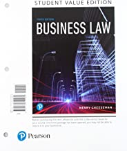 Business Law, Student Value Edition + 2019 MyLab Business Law with Pearson eText -- Access Card Package (10th Edition)