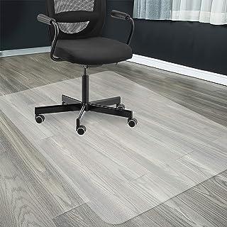 チェアマット フロアマット 120x90cm 床保護マット ずれない クリア 透明 PVC厚み1.5mm デスク足元マット 傷防止 すべり止め フローリング 床保護 机下/椅子/フロア/畳/床暖房対応/オフィス(120*90cm)