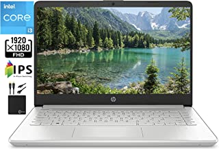 """2021 Newest HP 14"""" FHD IPS Laptop Computer,11th Gen Intel i3-1115G4 (Up to 4.1GHz, Beat i5-1035G4), 4GB RAM, 256GB PCIe SS..."""