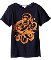 Appaman Kids - Super Soft Sea Monster Graphic Tee (Toddler/Little Kids/Big Kids)