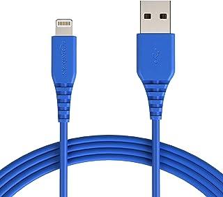 AmazonBasics – Cable de USB A a Lightning, con certificación MFi de Apple - Azul, 0,9 m