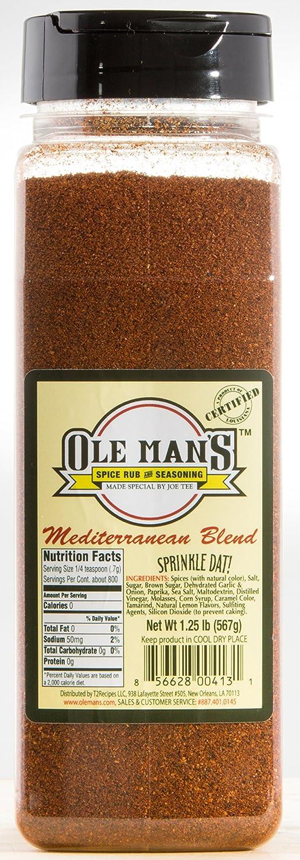 Award Winning In a Max 69% OFF popularity Mediterranean Blend-Ole Seasoni Spice Rub Man's