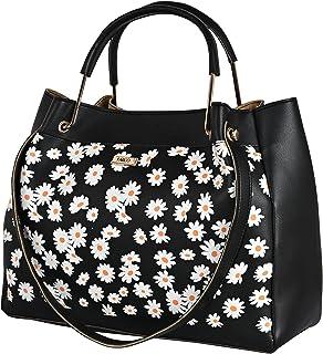Fargo PU Leather Women's Latest Shoulder Handbag (Black_FGO-272)
