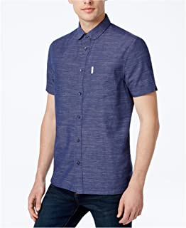 Mens End-On-End Button Up Shirt