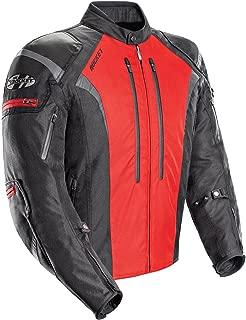 Joe Rocket Atomic Men's 5.0 Textile Motorcycle Jacket (Red, Medium)