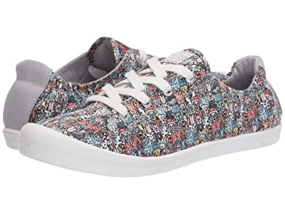 BOBS from SKECHERS Beach Bingo (Gray/Multi) Women
