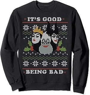 Villains Good Bad Ugly Christmas Sweater Sweatshirt