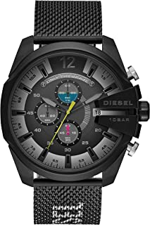 Diesel Men's Mega Chief Stainless Steel Chronograph Quartz Watch