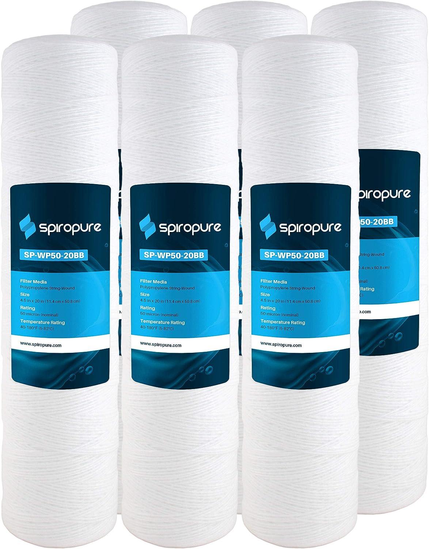 SpiroPure Replacement for 3M Max 78% OFF Max 84% OFF Aqua-Pure 20x4. SWC-45-2050 AP814-2