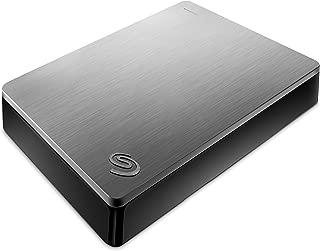 Seagate 希捷 Backup Plus 4TB 便携外置硬盘 – 银色 适用于PC笔记本电脑和Mac的USB 3.0,2个月Adobe CC摄影(STDR4000900)