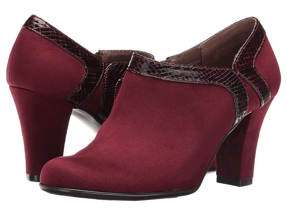Aerosoles Day Strole (Wine Fabric) High Heels