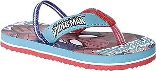 Spiderman by Kidsville Sea Green Color Boy's Flip-Flop 6 Kids UK (23 EU) (SM1CBF880)